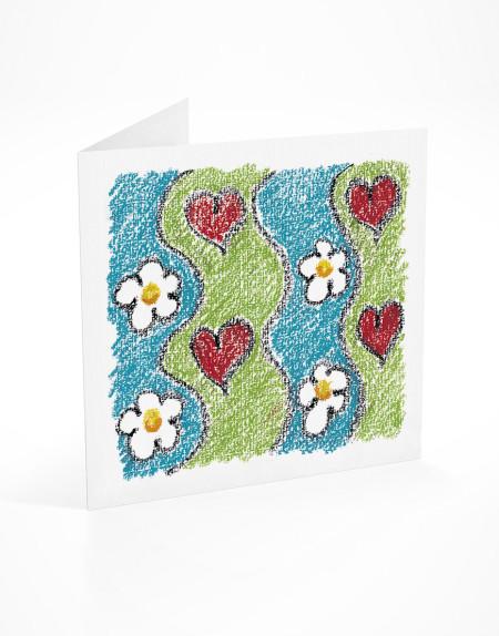 PFL 746 postal flores ondas-mont