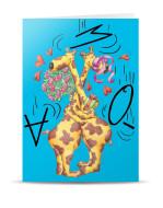 PT-569-postal girafas amo-te_mont