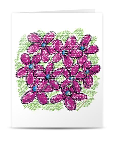 EFL 651 postal flores rosas_montagem