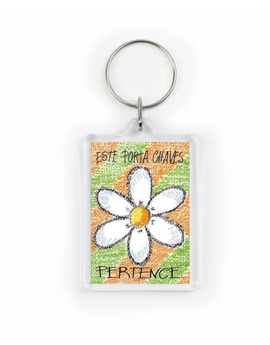 PCH 60 porta chaves flor laranja_mont