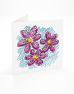 PFL 648 postal flores rosas-mont