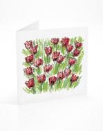PFL 649 postal flores papoilas-mont