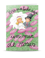 PN-643-postal casamento flores_mont