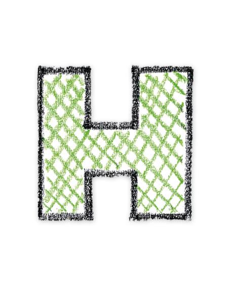 letra H